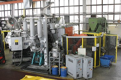 The automated foundry complex based on IDRA 800S pressure casting machine.