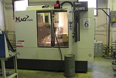 FADAL milling machining centres (USA)