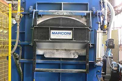 Газовая плавильная печь MARCONI
