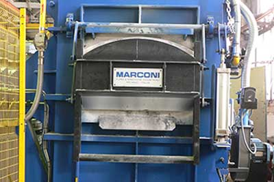 MARCONI gas melting furnace
