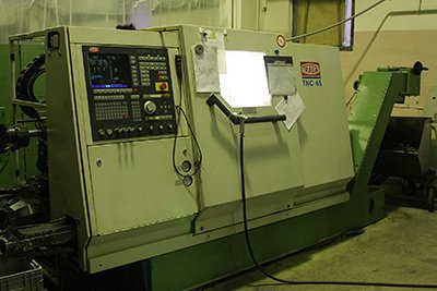 TRAUB turning machining centres with CNC (Germany)