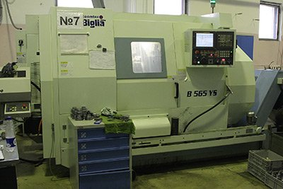BIGLIA turning machining centres with CNC (Italy)
